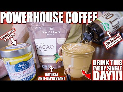 IF YOU ARE DIETING DRINK THIS! | Powerhouse Keto Coffee Recipe | All The Benefits
