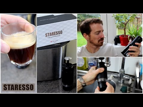 STARESSO – Portable Espresso / Cappuccino Maker, Review and Demo