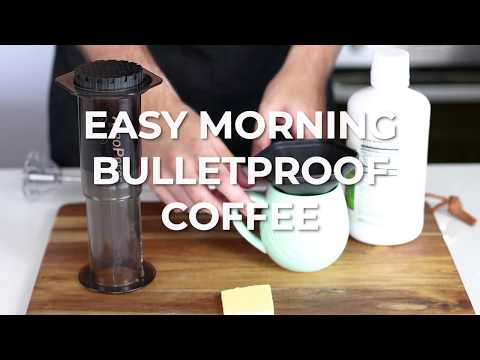 How To Make Keto Bulletproof Coffee – Quick Keto Recipe Video