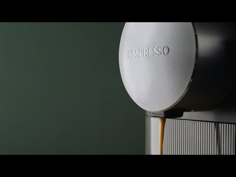 The NEW Nespresso Expert machine demo