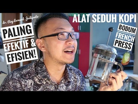 ALAT SEDUH KOPI PALING EFEKTIF & EFISIEN ! Bodum French Press – COFFEE REVIEW