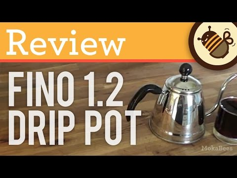REVIEW: Fino Miya 1.2L Coffee Drip Pourover Kettle / Pot for Pour Over Coffee – Unboxing