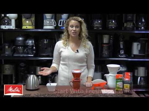 Melitta Pour-Over Coffee Demo