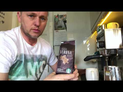 Starbucks cafe Verona review, my coffee journey episode 10
