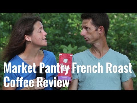 Market Pantry French Roast Coffee Review