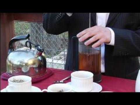 Tea Brewing Tips : Using a French Press to Brew Tea