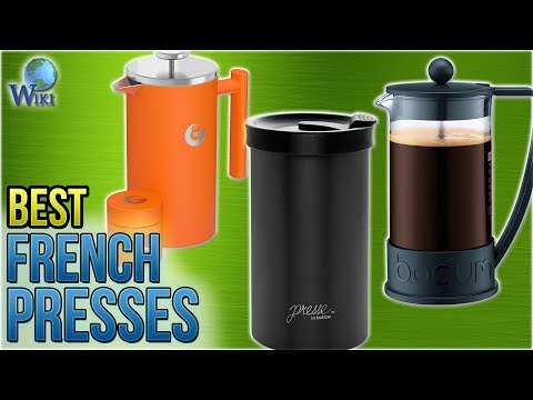 10 Best French Presses 2018