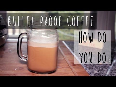 How To Make Bullet Proof Coffee || Butter & Coconut Oil Coffee Recipe