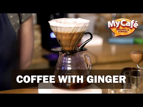 Ginger Coffee Recipe from My Cafe and JS Barista Training Center