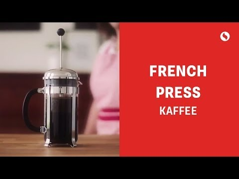 Kaffee-Zubereitung mit der French Press
