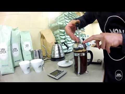 Van Dyck Tutorial: Kaffeezubereitung mit der French Press