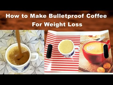 How to Make BulletProof Coffee in Telugu ||Bulletproof coffee recipe telugu||coffee for weight loss
