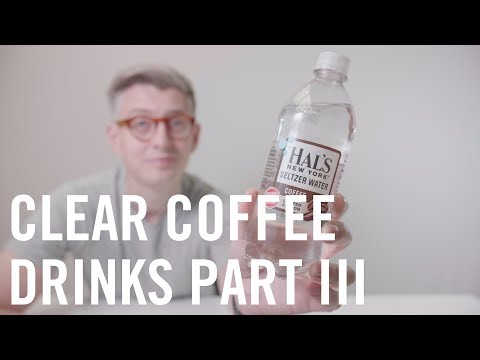 Product Review: Hal's New York Seltzer: Coffee Flavour