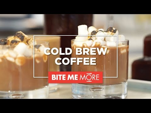 DRINK RECIPE – Cold Brew Coffee 101