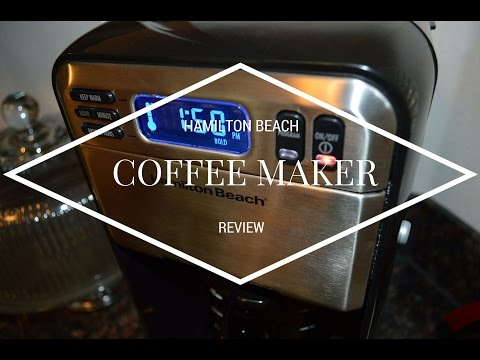 Hamilton Beach 12 Cup Coffee Maker 46201 Review
