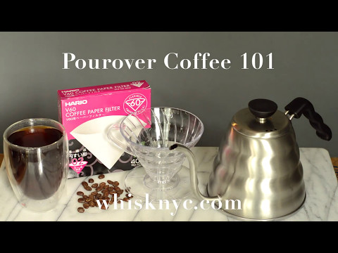 Pourover coffee 101
