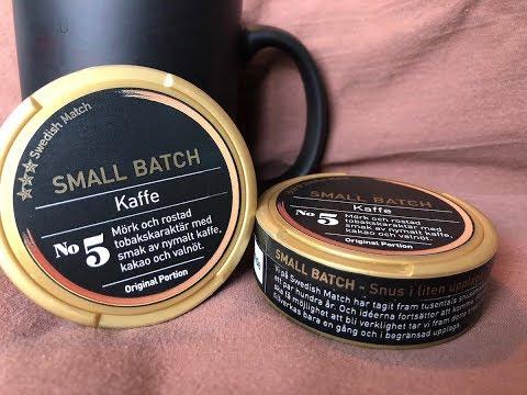 Small Batch #5 Kaffe (Coffee) Review