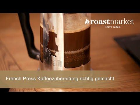 Zubereitung von perfektem French-Press Kaffee | roastmarket