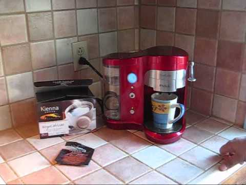 Demo and review of the SunCafe Coffee Pod Brewer