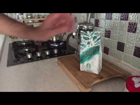 french press kahve yapalım. Evde Starbucks tadında kahve yapımı