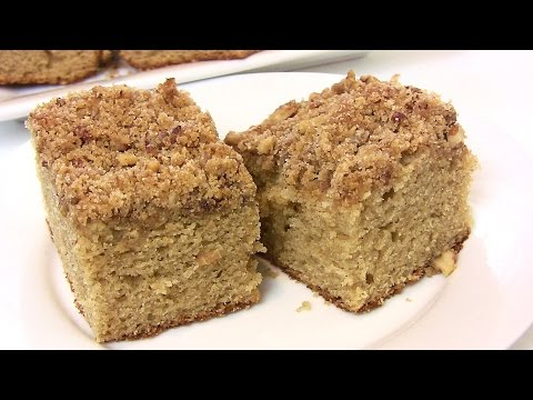 """""""Back to School"""" Old Fashioned Coffee Cake Recipe- Back-to-School recipe 