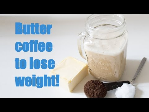 ☕☕Butter coffee to lose weight!!! Bulletproof coffee recipe