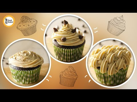 Coffee Cupcakes Recipe By Food Fusion
