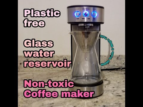 Drip coffee maker without plastic water reservoir –  sound demo