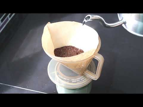 How to drip the Coffee at home, It's easy! (Pour Over Coffee)