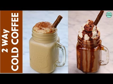 2 Easy Cold Coffee Recipe in 2 Minutes | Cafe Style  Frothy Cold Coffee | Homemade Cold Coffee