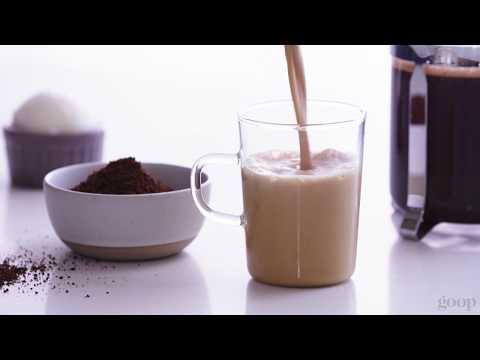 Coconut Butter Coffee Recipe | goop