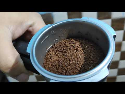 Morphy Richards Europa 800 black coffee and cappucino maker tutorial/demo in hindi.