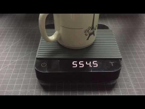 Acaia Pearl Black coffee scale review