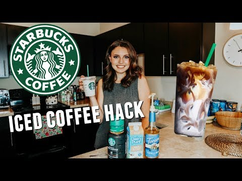 HOW TO MAKE STARBUCKS ICED COFFEE AT HOME | BRENNA LYONS