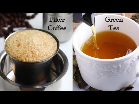 రోజూ ఉదయాన్నే ఇవి తీసుకుంటే ఆరోగ్యం మీసొంతం | How To Make Filter Coffee & Green Tea Recipe In Telugu