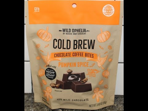 Wild Ophelia Pumpkin Spice Cold Brew Chocolate Coffee Bites Review