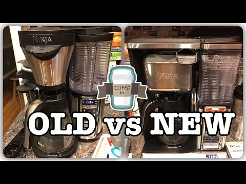 New Ninja vs. Old Ninja – Ninja Coffee Bar