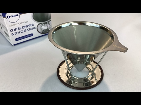 A cheap Pour Over Hand Drip Coffee Dripper by PALOTOP