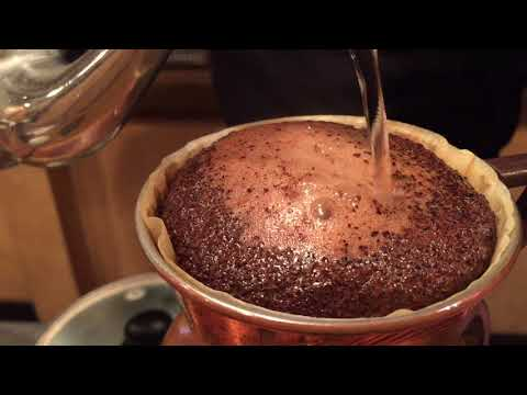 Japanese Pour Over Coffee method 13 Kenya  red mountain