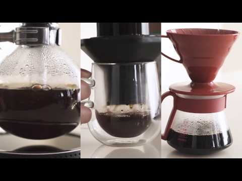 Whittard | Syphon, Aeropress, Pour-Over (Filter) Coffee