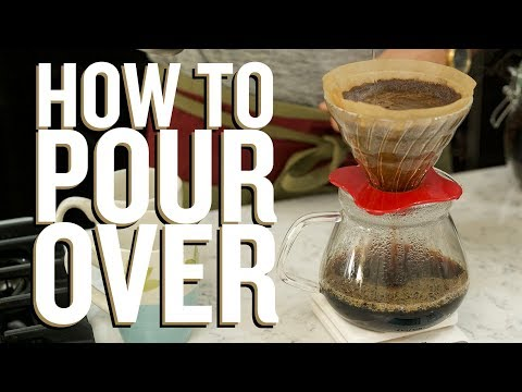 How to Make Pour Over Coffee- Hario V60