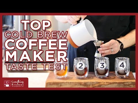 Top Cold Brew Coffee Maker Taste Test – KitchenAid, Cuisinart, Oxo, & Toddy Cold Brew