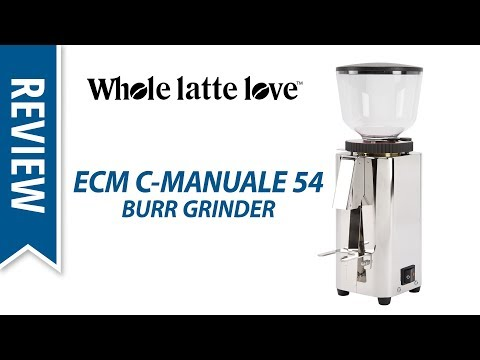 Review ECM C-Manuale 54 Espresso Coffee Burr Grinder