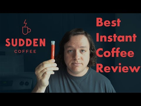 Best Instant Coffee | Sudden Coffee Review