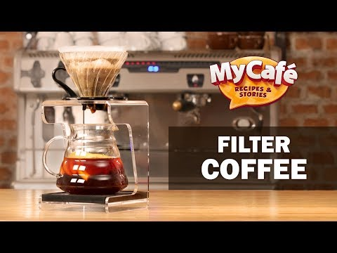 Filter Pourover Coffee with Fruit from My Cafe and JS Barista Training Center