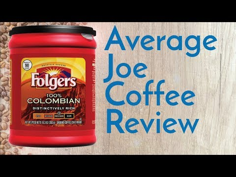 Folgers 100% Colombian Coffee Review