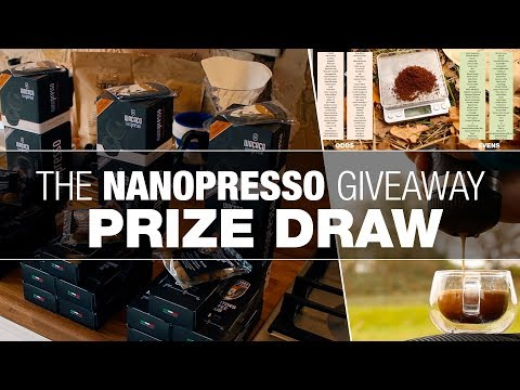 NANOPRESSO Portable Espresso Machine Prize Draw