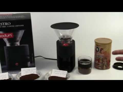 Bodum Bistro Coffee Grinder Review