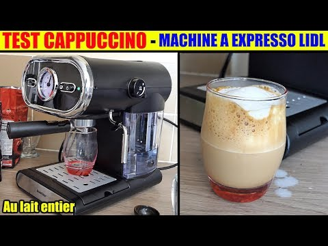 Silvercrest Espresso Machine From Lidl Latte Cappuccino