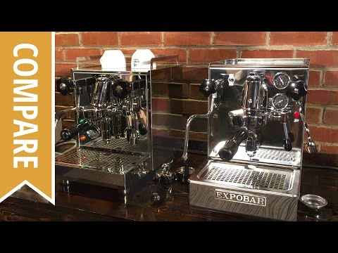 Compare: Expobar Office Lever and Profitec Pro 500 Espresso Machine